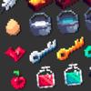 RPG icon 128 set