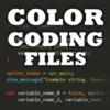 Color Coding Files