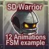 Mini Characters - Warrior Class