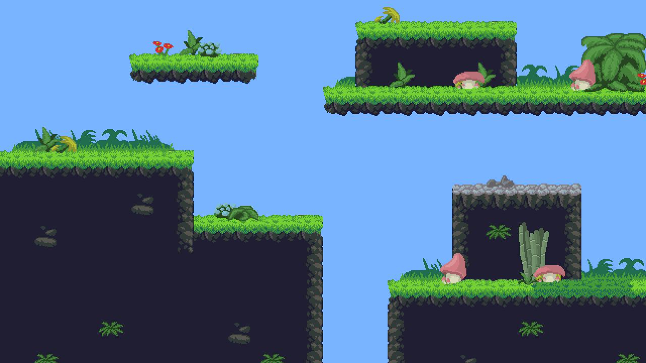 Jungle Tileset By Dudeslockerroom Gamemaker Marketplace