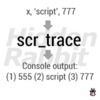 Script Trace