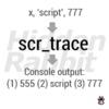 Script Trace