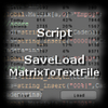 MatrixToTextFile