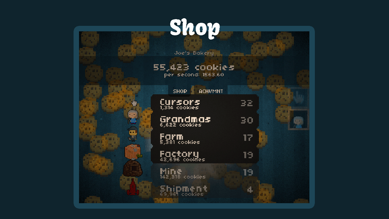 Clicker Engine by Geeky | GameMaker: Marketplace