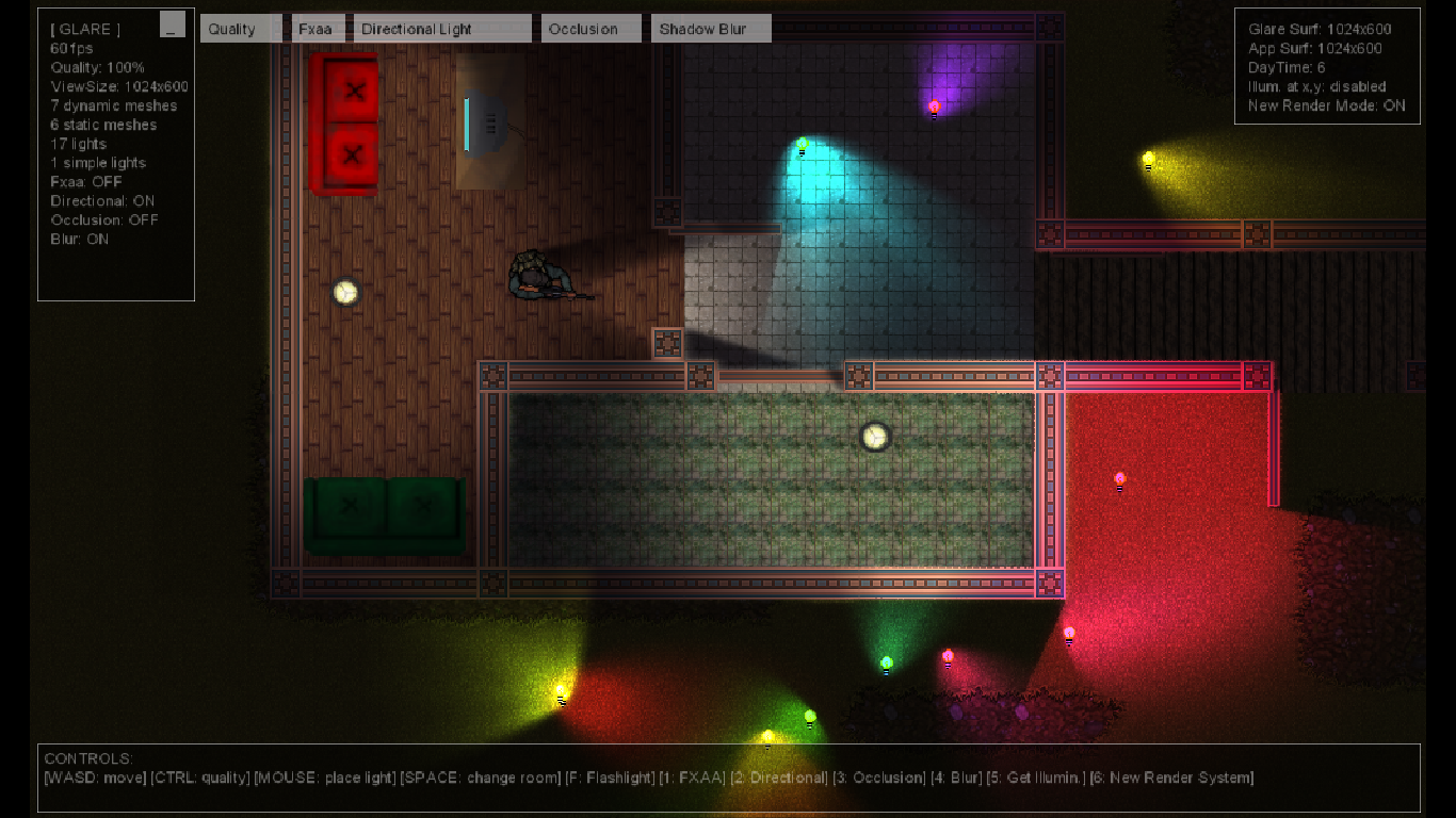 & Glare Engine - 2D illumination by Tizzio | GameMaker: Marketplace