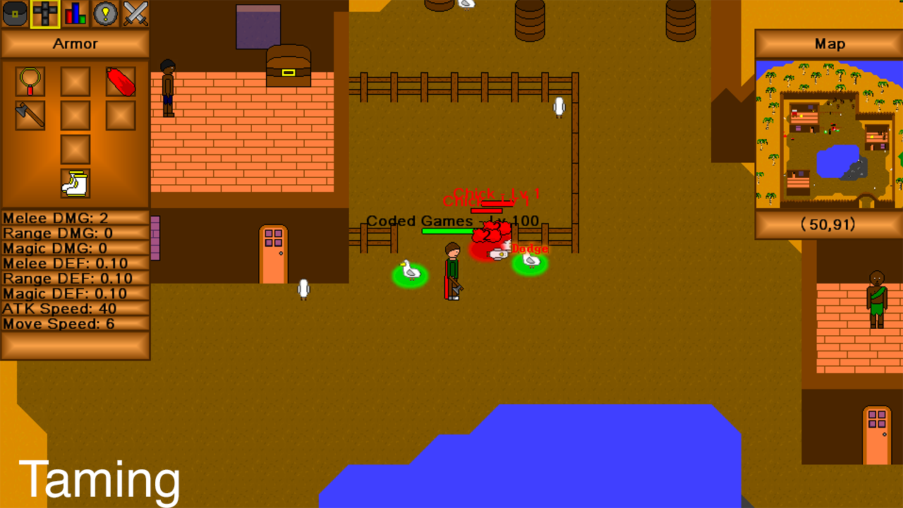 Minecraft Crafting Game Maker
