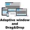 Window resize and drag&drop