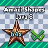 Shape Set - Lava 3 - 64x
