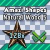 Shape Set - Wood 5 - 128x