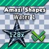Shape Set - Water 1 - 128x