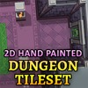 Hand Painted Dungeon Tileset