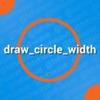 Draw Circle Width