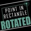 Point in rectangle rotated