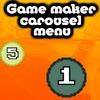 Carousel menu