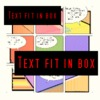 Text fit box