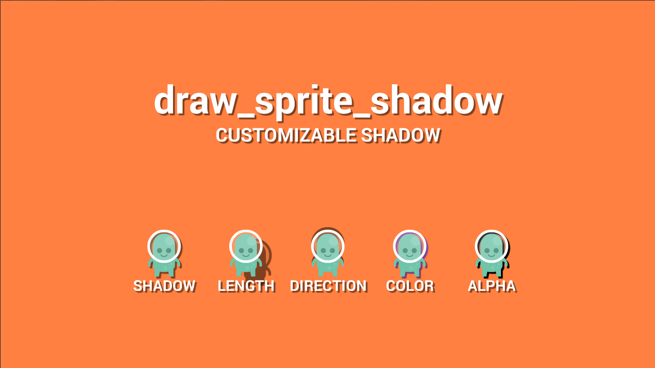 Game maker colors - Draw Sprite Shadow By Peter Tehwave J Rgensen Gamemaker Marketplace