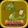 Kids Memory Game - Dragon