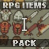 RPG Items pack 16x16 - 1