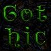 Gothic Sprite Fonts