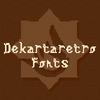 Dekartaretro Font