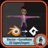 Export 3D BlenderToGM