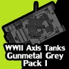 Axis Tanks - Gunmetal Pack I