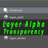 Layer Alpha and Transparency