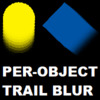 Per-Object Motion Trail Blur