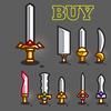 Gaming swords