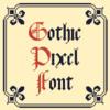Gothic Pixel Font