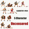 Gladiator pack Uncensored