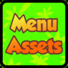 Menu assets with forest theme.