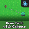 Draw Path With Objects